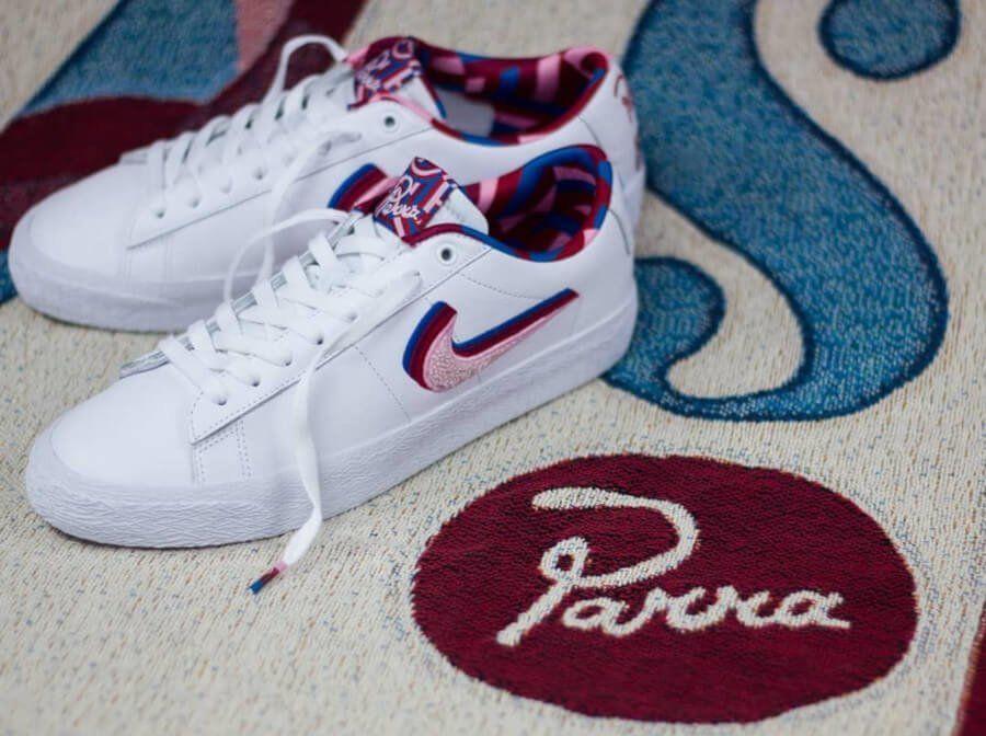 Nike SB Blazer Low Parra 'White