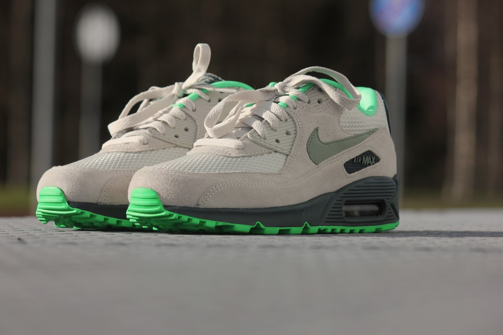 half off 3bef8 e4cf6 ... coupon for nike air max 90 essential light bone poison green 3b6f0 966ad