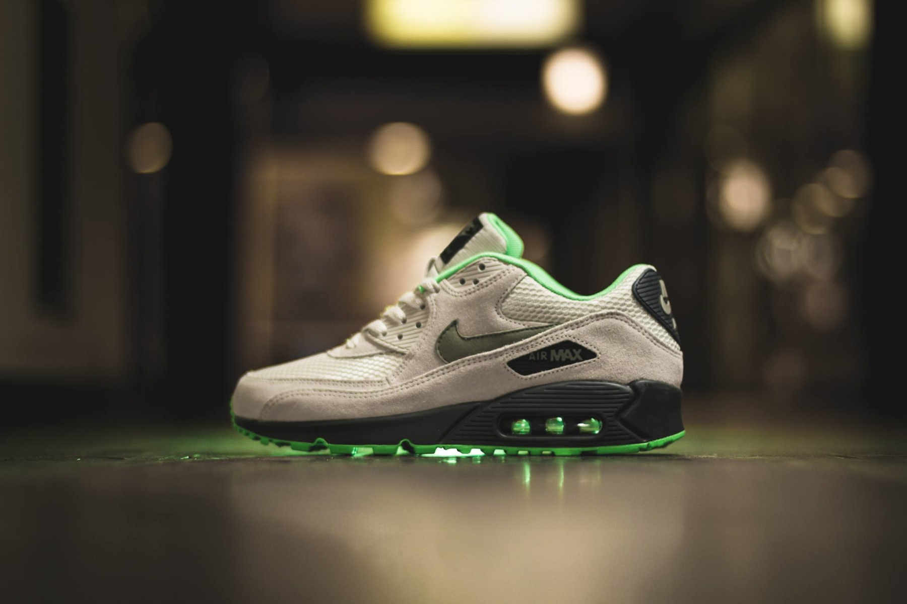 first rate 179d9 b2be1 ... canada nike air max 90 essential light bone jade stone mens shoes from  attic clothing uk