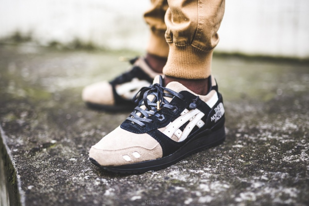 "info for e9fd6 76033 Кроссовки Asics Gel Lyte III x The Northface ""The Apex"""
