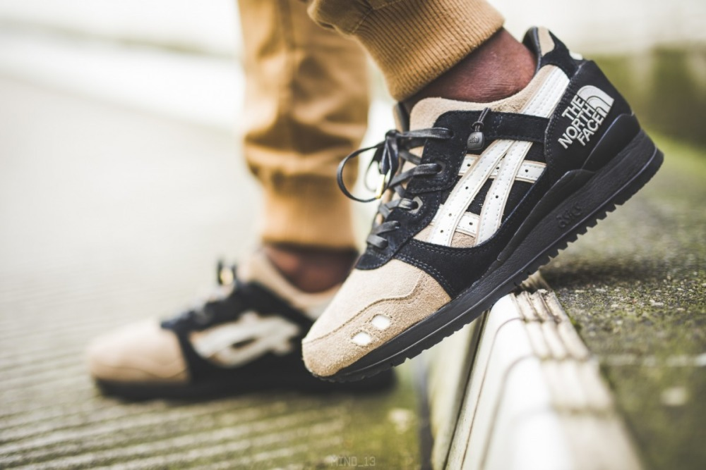 """info for 70e2f 2a975 Кроссовки Asics Gel Lyte III x The Northface """"The Apex"""""""