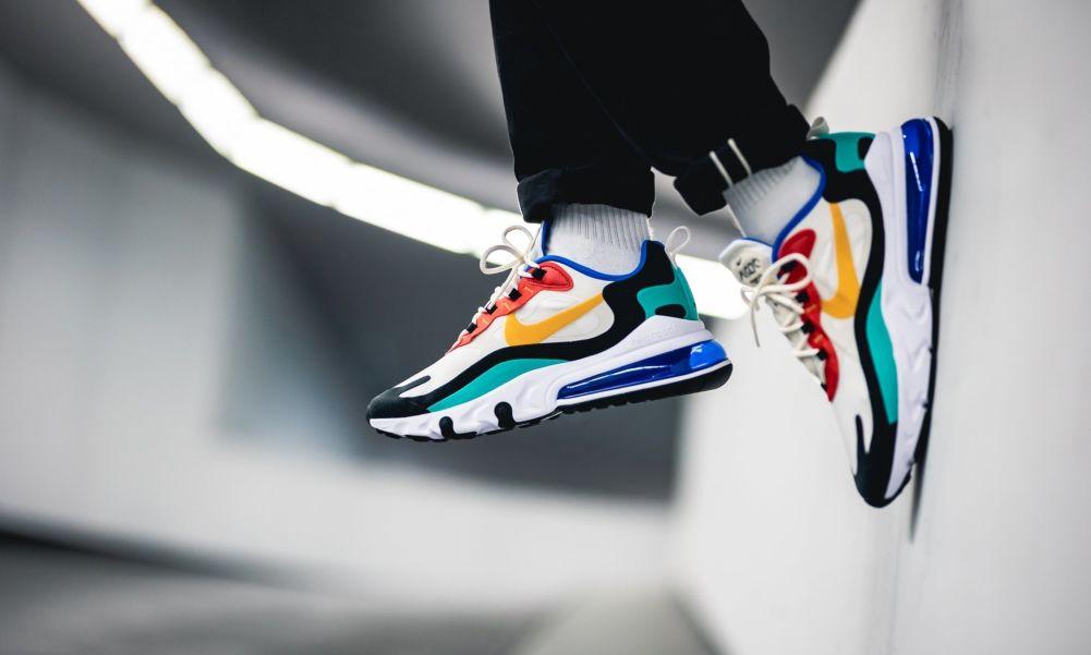 Мужские кроссовки Nike Air Max 270 React 'Bauhaus' – купить по ...