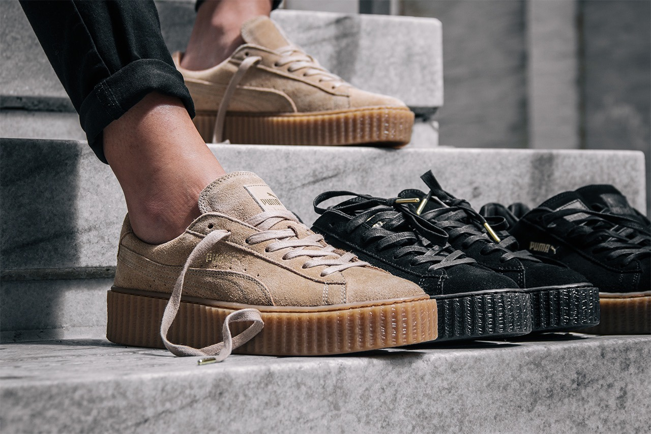 puma creepers by rihanna купить киев