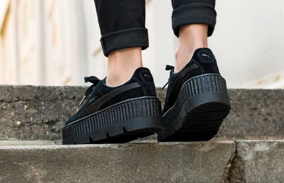 online store bae65 72a99 Женские кроссовки Puma Cleated Creeper Rihanna Fenty