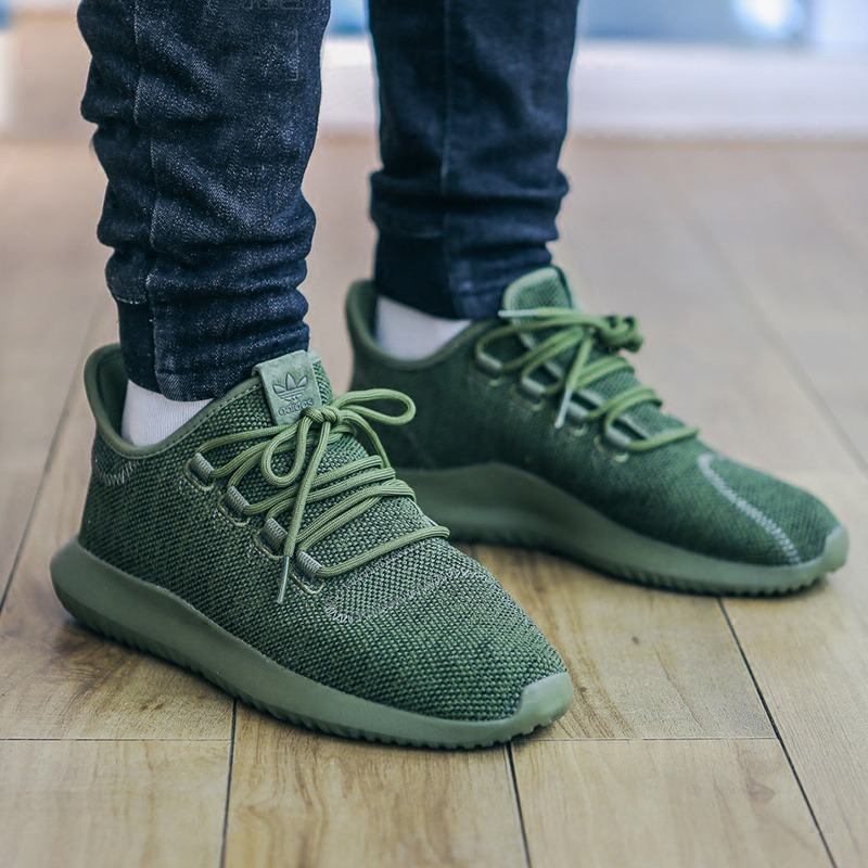 "52c54ce0d8be Кроссовки Adidas Tubular Shadow Knit ""Olive Green"
