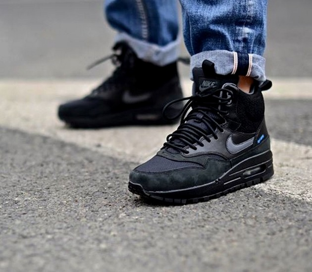 official photos 21491 461ad Кроссовки Nike WMNS Air Max 1 Mid Sneakerboot Water Proof A749 ...