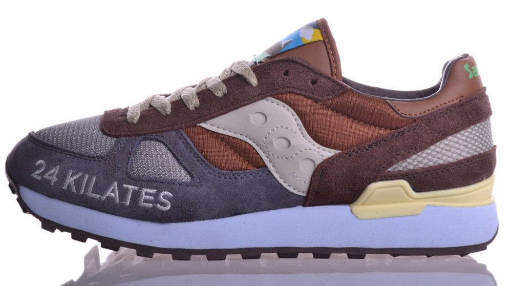 24 Kilates X Saucony Shadow Original Mar Y Montana Pack