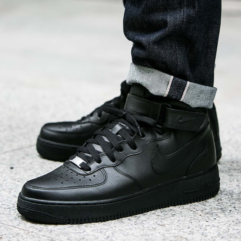 Nike Air Force 1  White amp Black Air Force 1s  OFFICE