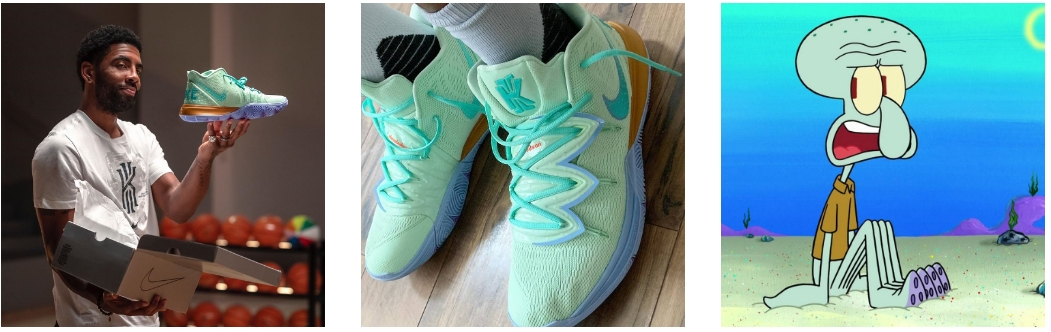 Spongebob Squidward Kyrie 5