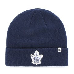"Шапка Оригінал 47 Brand Toronto Maple Leafs Raised Cuff Knit ""Light Navy"""