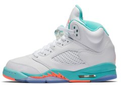 "Кроссовки Nike Air Jordan 5 Retro ""Light Aqua"""