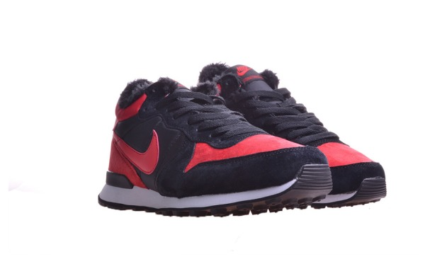 "Зимние Кроссовки Nike Internationalist Mid ""Black/Red"", EUR 40"