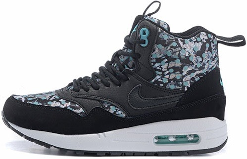 "Кроссовки Nike Wmns Air Max 1 Mid Sneakerboot Liberty ""Dark Ash Black"", EUR 36"