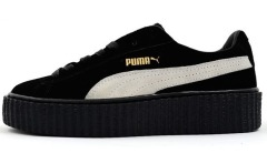 "Кросiвки Rihanna x Puma Suede Creeper ""Black/White"""
