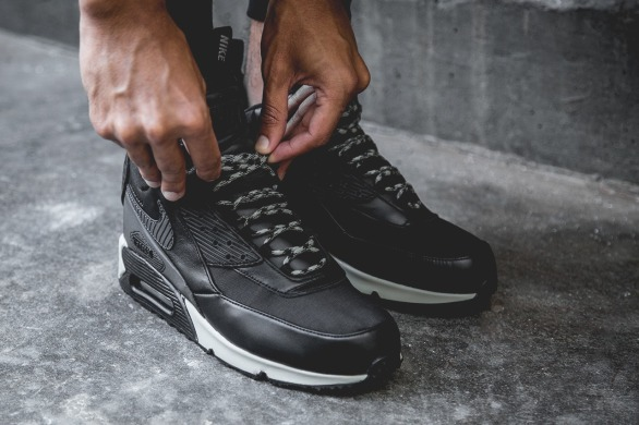 "Хайтопы Nike Air Max 90 Sneakerboot ""Black"", EUR 45"