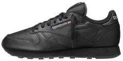 "Кросiвки Оригiнал Reebok Classic Leather ""Black"" (2267)"