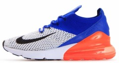"Мужские кроссовки Nike Air Max 270 Flyknit ""Reacer Blue Total Crimson"""