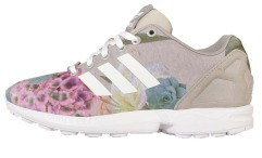 "Кросiвки Оригинал Adidas ZX Flux Women Print ""Grey"""