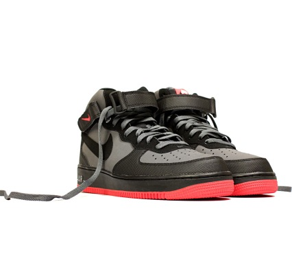 "Кроссовки Nike Air Force 1 Mid""07 Dk ""Grey/Black"", EUR 41"