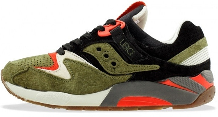 "Кроссовки Saucony UBIQ x Grid 9000 ""Dirty Martini"", EUR 41"