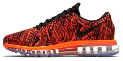 "Кроссовки Nike Air Max 2016 ""Total Crimson Black/Black"""