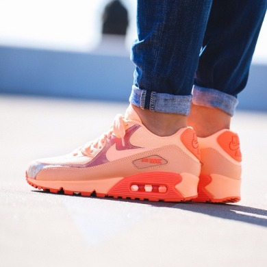 "Кроссовки Nike WMNS Air Max 90 Print ""Sunset Glow"", EUR 36"