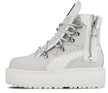 Черевики Puma Wmns Fenty Sneakerboot White