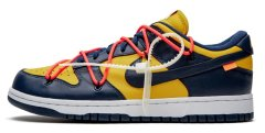 Кроссовки Nike Dunk Low Off-White Michigan