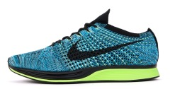 "Кроссовки Nike Flyknit Racer ""Blue Lagoon/Black-Polarized Blue"""