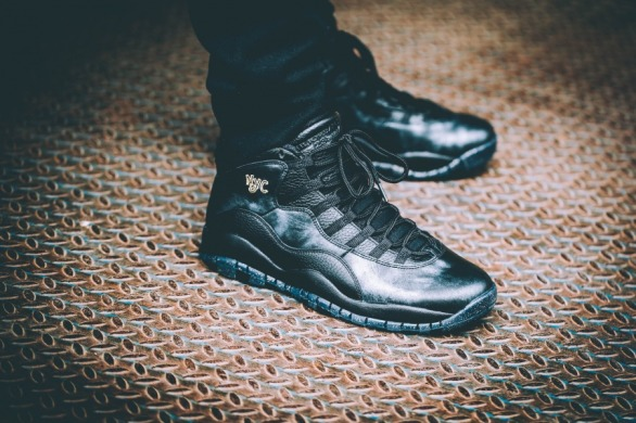 "Кросiвки Air Jordan Retro 10 NYC ""Black"", EUR 41"
