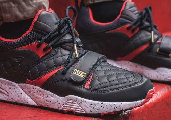 "Кросiвки Kith x Puma Blaze of Glory ""Black/Red"", EUR 41"