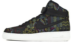 "Кросiвки Nike Air Force One High BHM ""Multicolore"""
