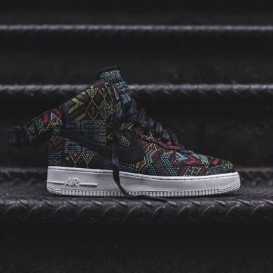 "Кросiвки Nike Air Force One High BHM ""Multicolore"", EUR 42"