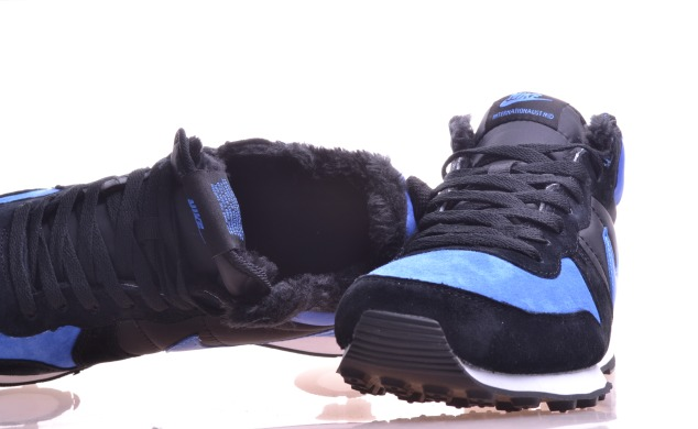 "Зимние Кроссовки Nike Internationalist Mid ""Black/Blue"", EUR 40"