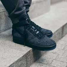 "Кросiвки Nike Air Force Flyknit Mid ""Black"", EUR 41"