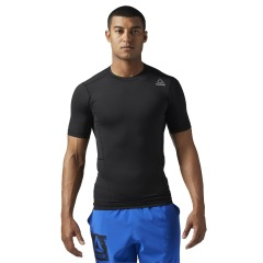 Футболка Reebok Workout Ready Short Sleeve Compression Tee