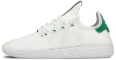 "Кроссовки Adidas x Pharrell Williams Tennis Hu Primeknit ""White/Green"""