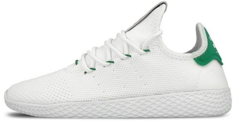 "Кроссовки Adidas x Pharrell Williams Tennis Hu Primeknit ""White/Green"", EUR 40"