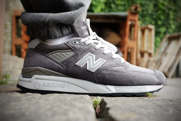 "Кроссовки New Balance Made in USA M998 ""Grey"", EUR 41"