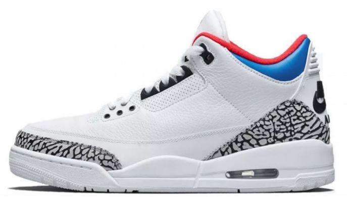 Баскетбольные кроссовки Air Jordan 3 Retro