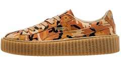 Кроссовки Rihanna x PUMA Fenty Creeper Camo 'Orange'