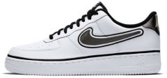 Мужские кроссовки Nike Air Force 1 Low Sport NBA 'White/Black'