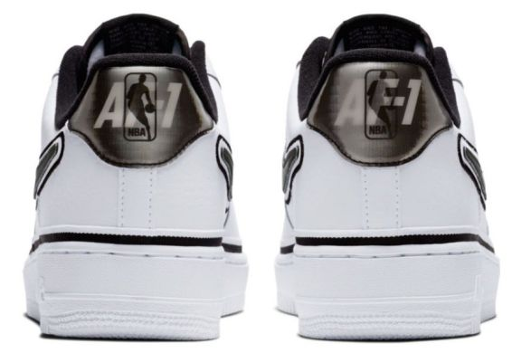 Мужские кроссовки Nike Air Force 1 Low Sport NBA 'White/Black', EUR 43