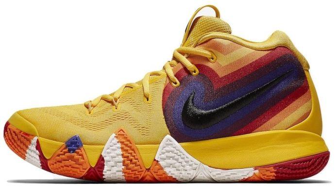 2bbb2264 баскетбольные кроссовки Nike Kyrie 4 Yellow Multicolor A2631