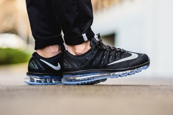 "Кросівки Nike Air Max 2016 ""Black/White/Grey"", EUR 41"