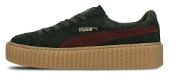 "Кроссовки Puma Wmns Suede Creepers Satin Fenty by Rihanna ""Green"""
