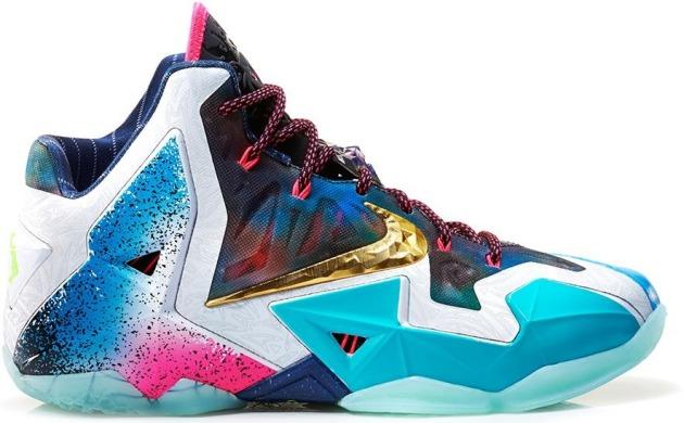 Баскетбольні кросівки Nike Lebron 11
