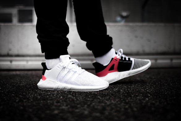 "Кросiвки Adidas EQT Support 93/17 ""White Turbo Red"", EUR 36"