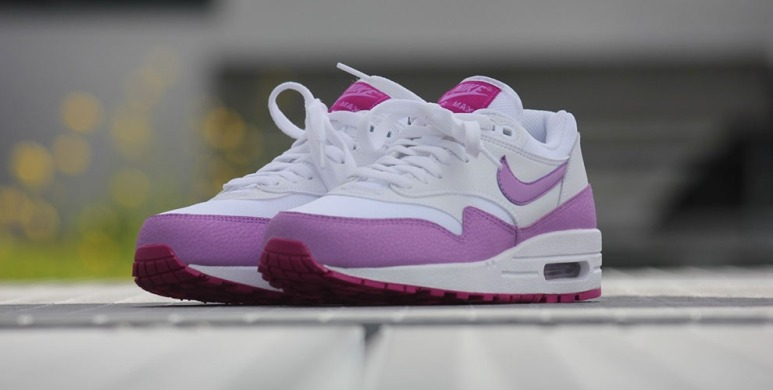 "Кросівки Nike Air Max 1 Essential ""White/Fuchsia Glow-Fuchsia Flash"", EUR 36"