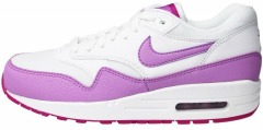 "Кроссовки Nike Air Max 1 Essential ""White/Fuchsia Glow-Fuchsia Flash"""